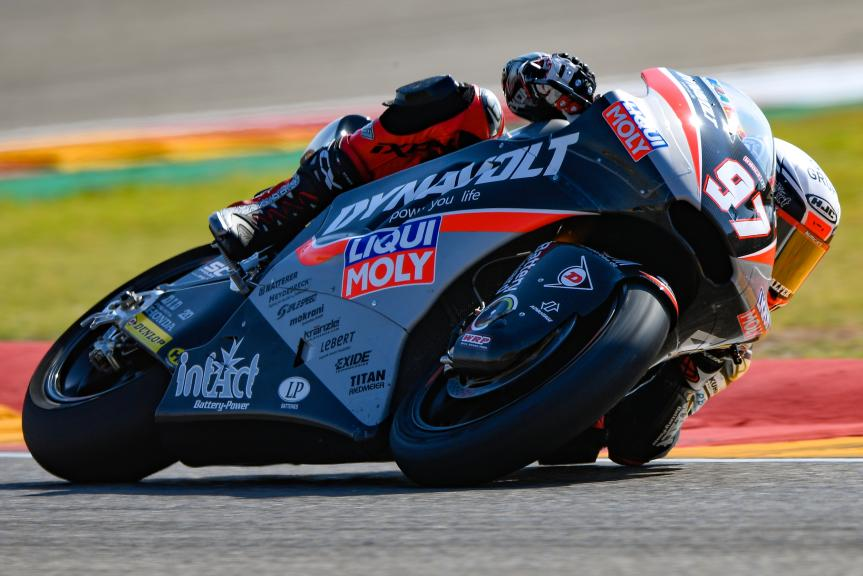 Xavi Vierge, Dynavolt Intact GP, Gran Premio Movistar de Aragón