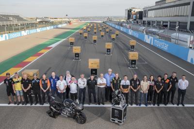 A new era: Triumph Moto2™ engine handover