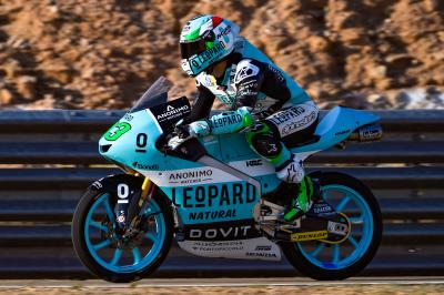 Bastianini bolts to the top on Friday in Aragon