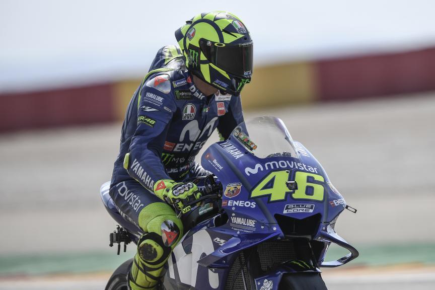 Valentino Rossi, Movistar Yamaha MotoGP, Gran Premio Movistar de Aragón