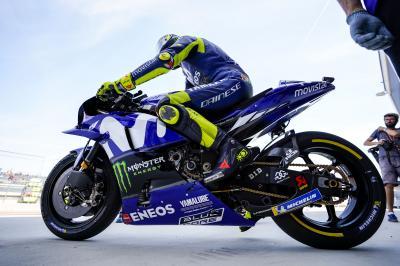Rossi: « Nous avons plus souffert en cours d'après-midi »