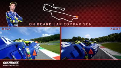 Rossi comparison lap: MotoGP18 vs real life!