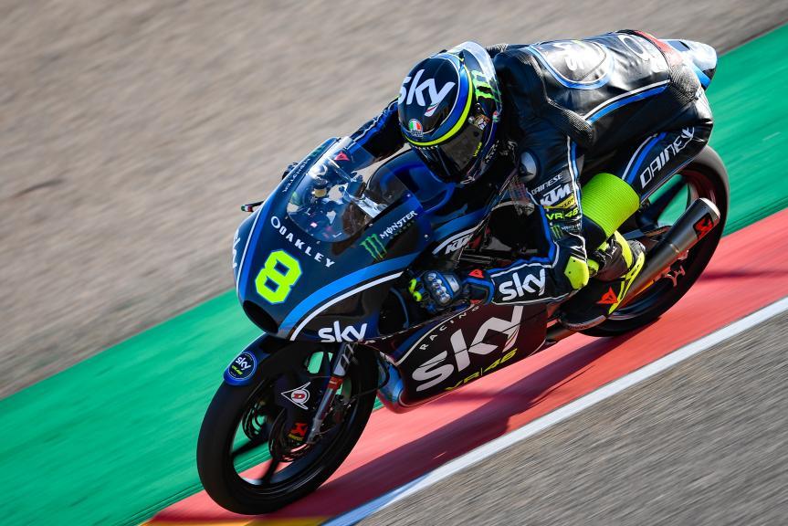 Nicolo Bulega, Sky Racing Team VR46, Gran Premio Movistar de Aragón