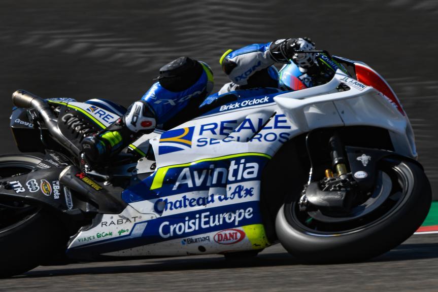 Xavier Simeon, Reale Avintia Racing, Gran Premio Movistar de Aragón