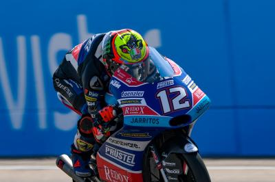 Bezzecchi fastest as Saturday action begins in Aragon
