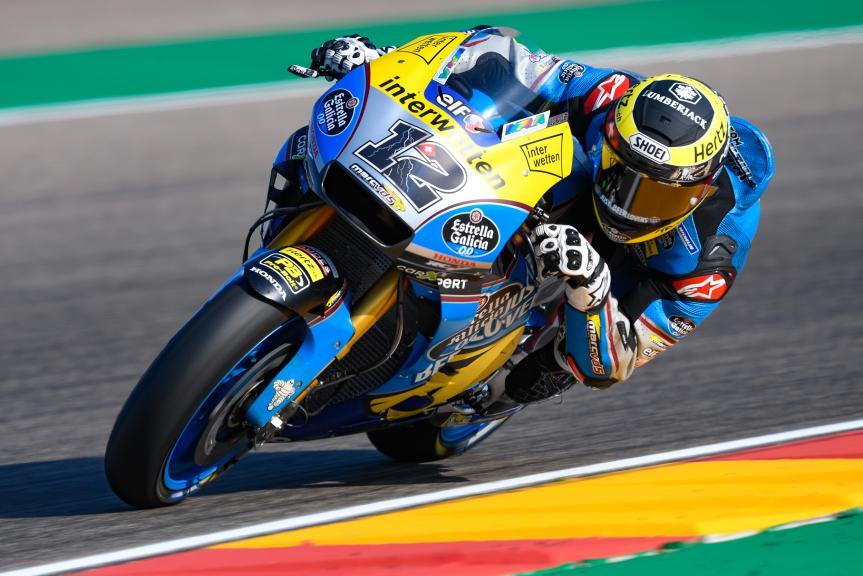 Thom Luthi, Eg 0,0 Marc VDS, Gran Premio Movistar de Aragón