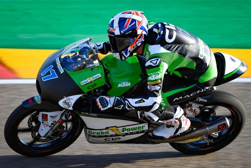 John Mcphee, CIP - Green Power, Gran Premio Movistar de Aragón