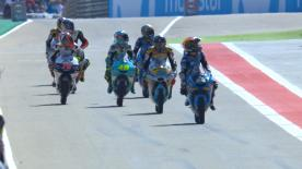 All the Moto3™ qualifying action from Italy. Watch as the lightweight class battle for their grid positions