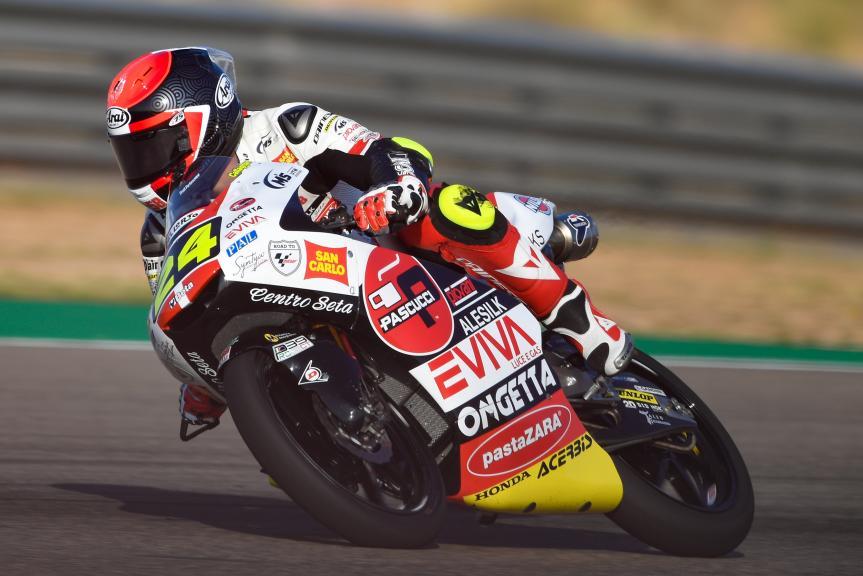 Tatsuki Suzuki, SIC58 Squadra Corse, Gran Premio Movistar de Aragón