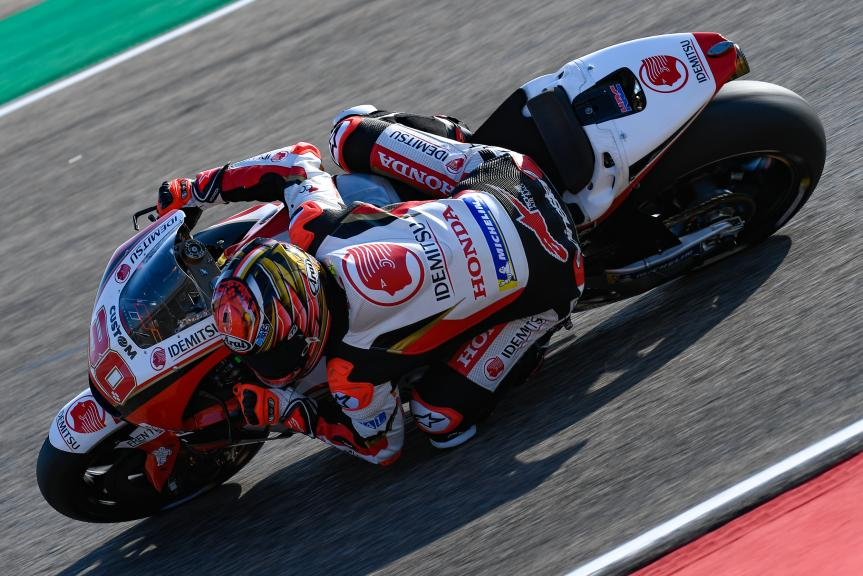 Takaaki Nakagami, LCR Honda Idemitsu, Gran Premio Movistar de Aragón