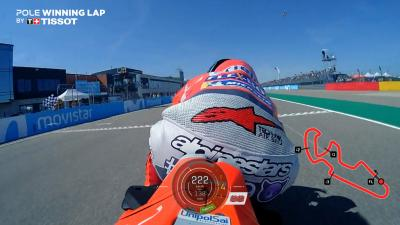 Watch Jorge Lorenzo's pole-winning lap for free!