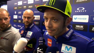 Rossi: 'Was wir in der Box versuchen, reicht nicht'