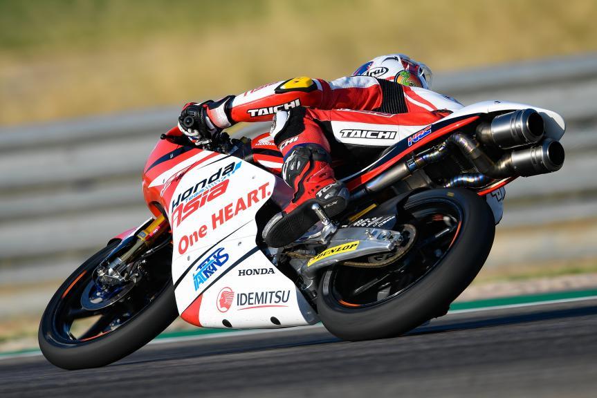 Nakarin Atiratphuvapat, Honda Team Asia, Gran Premio Movistar de Aragón