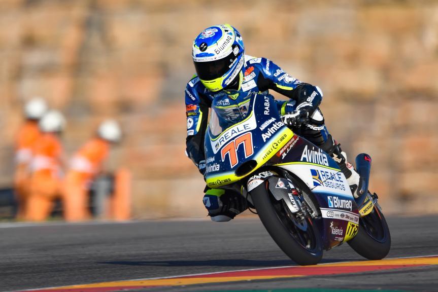 Vicente Perez, Reale Avintia Academy, Gran Premio Movistar de Aragón