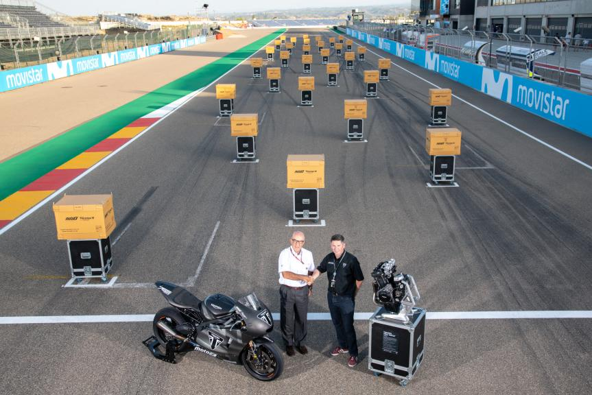 Triumph Moto2™ Engine Handover