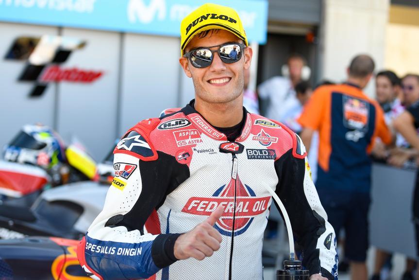 Jorge Navarro, Federal Oil Gresini Moto2, Gran Premio Movistar de Aragón