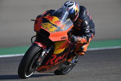 P.Espargaró forfait pour la suite du GP Movistar d'Aragón