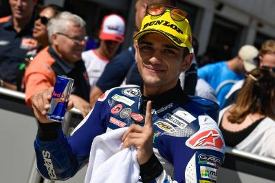 Magical Martin makes history in Moto3™ qualifying