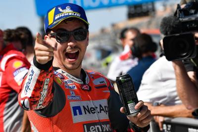 Ducati prive Márquez de la pole à Aragón