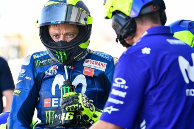 "Rossi: ""I didn't have the pace for Q2"""
