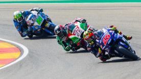 Revivez la première partie des qualifications MotoGP™ au MotorLand Aragón et découvrez qui sont les repêchés.