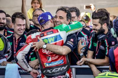 "Aleix equals his best result with Aprilia: ""I'm super happy"""