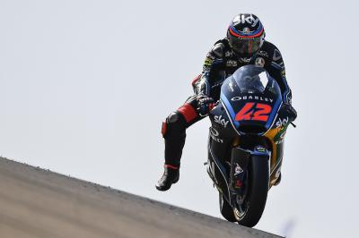 Bagnaia heads Corsi and Fernandez on Sunday morning