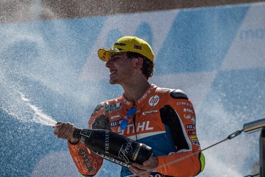Lorenzo Baldassarri, Pons HP40, Gran Premio Movistar de Aragón