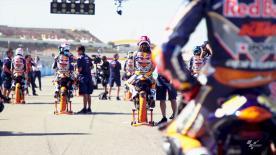 Schau dir die Kämpfe der potenziellen MotoGP™ Kandidaten im zweiten Rennen in MotorLand Aragónan