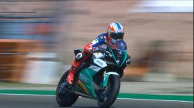 The FIM Enel MotoE™ World Cup will start in 2019. See how the bike handles at MotorLand Aragon