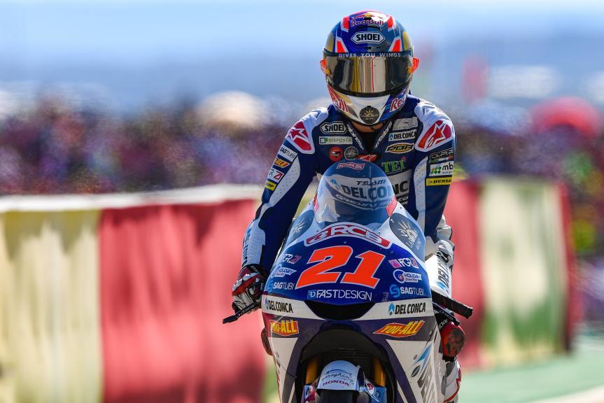Fabio Di Giannantonio, Del Conca Gresini Moto3, Gran Premio Movistar de Aragón