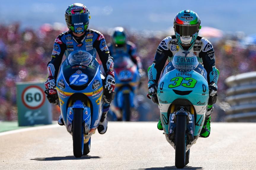 Enea Bastianini, Leopard Racing, Alonso Lopez, Estrella Galicia 0,0, Gran Premio Movistar de Aragón