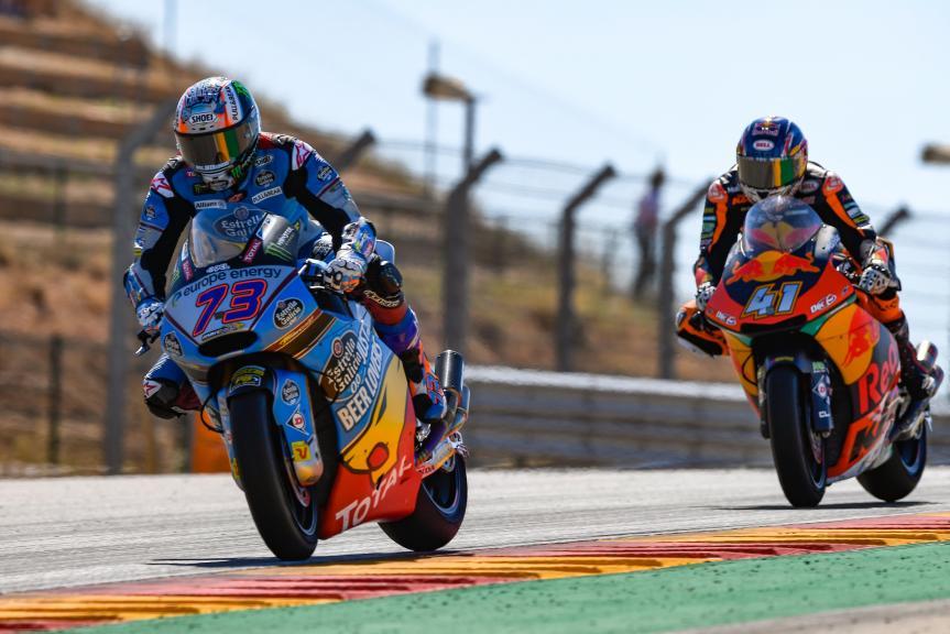 Alex Marquez, Eg 0,0 Marc VDS, Brad Binder, Red Bull KTM Ajo, Gran Premio Movistar de Aragón