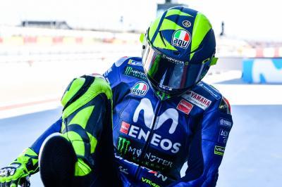Neuf places de gagnées en course pour Rossi!