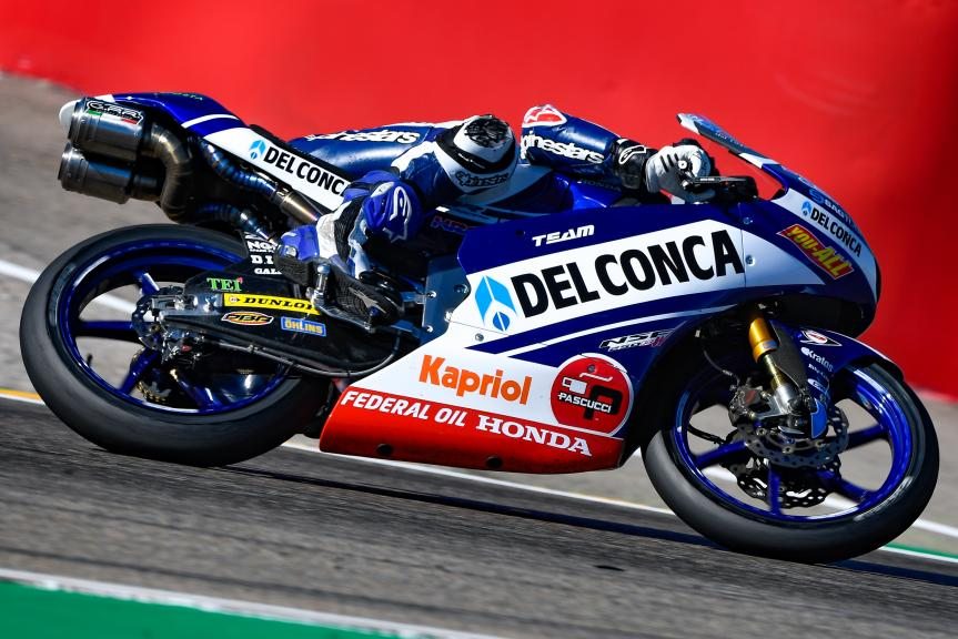 Jorge Martin, Del Conca Gresini Moto3, Gran Premio Movistar de Aragón