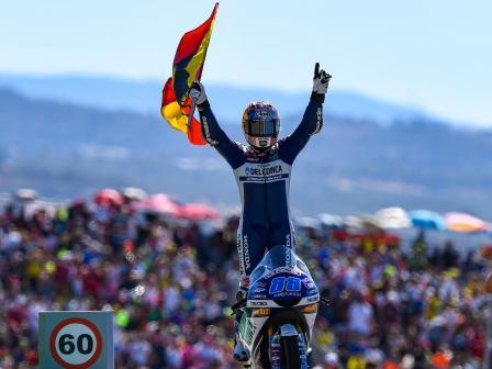 Moto3, Race, Gran Premio Movistar de Aragón