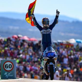 Moto3™ Galavorstellung: Martin in Aragon uneinholbar
