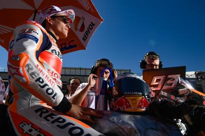 Marquez: another brick in the wall