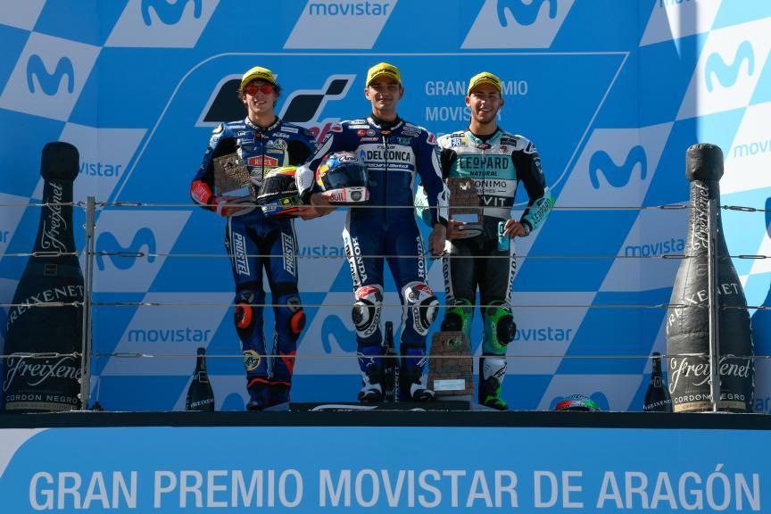 Jorge Martin, Marco Bezzecchi, Enea Bastianini, Gran Premio Movistar de Aragón