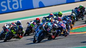 The full race session of the Moto3™ World Championship at the Gran Premio Movistar de Aragon at MotorLand Aragon