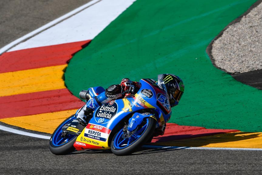 Jeremy Alcoba, Junior Team Estrella Galicia 0,0, Gran Premio Movistar de Aragón