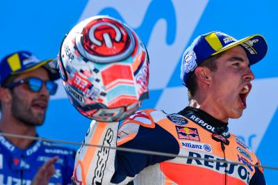 Three factories star as Marquez seals magical MotorLand win