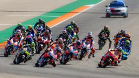 All the action from round 14 of the MotoGP™ World Championship at the Gran Premio Movistar de Aragon