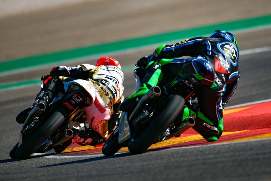 Dennis Foggia, Albert Arenas, Aragón Moto2 & Moto3 Official Test