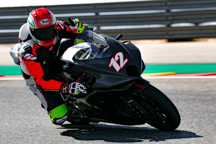 Lorenzo Lanzi, Forward Racing Team, Aragón Moto2 & Moto3 Official Test