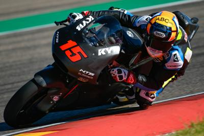 Moto2™ and Moto3™ back on track for testing at MotorLand