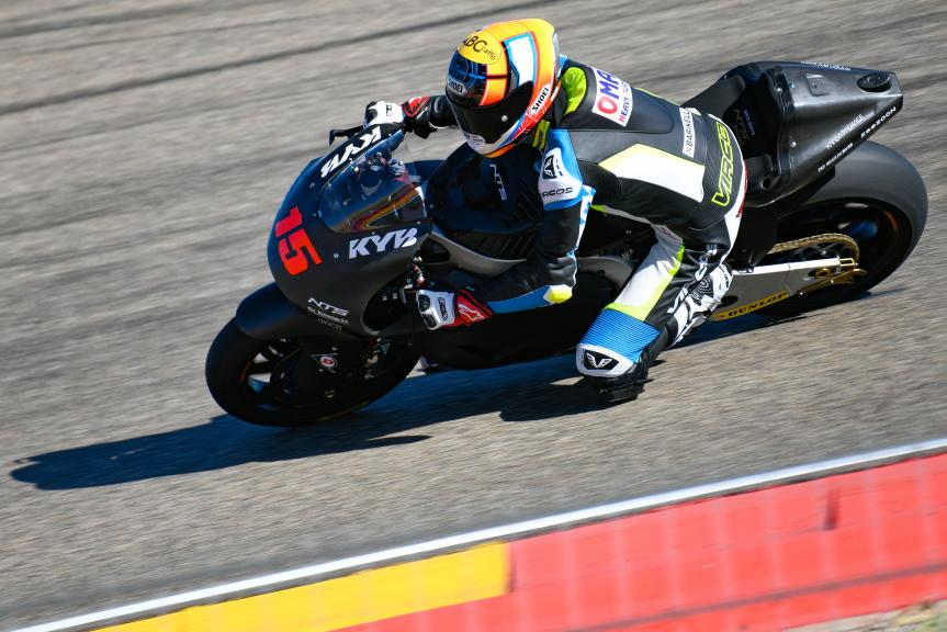 Alex De Angelis, RW Racing Team, Aragón Moto2 & Moto3 Official Test