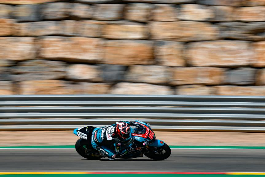 Fabio Quartararo, HDR-Speed Up Racing, Aragón Moto2 & Moto3 Official Test
