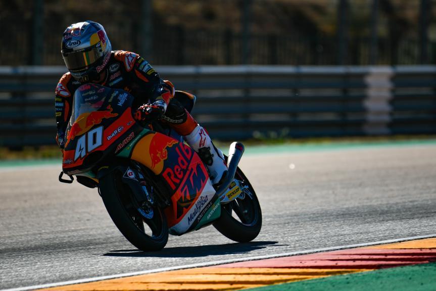 Darryn Binder, Red Bull KTM Ajo, Aragón Moto2 & Moto3 Official Test