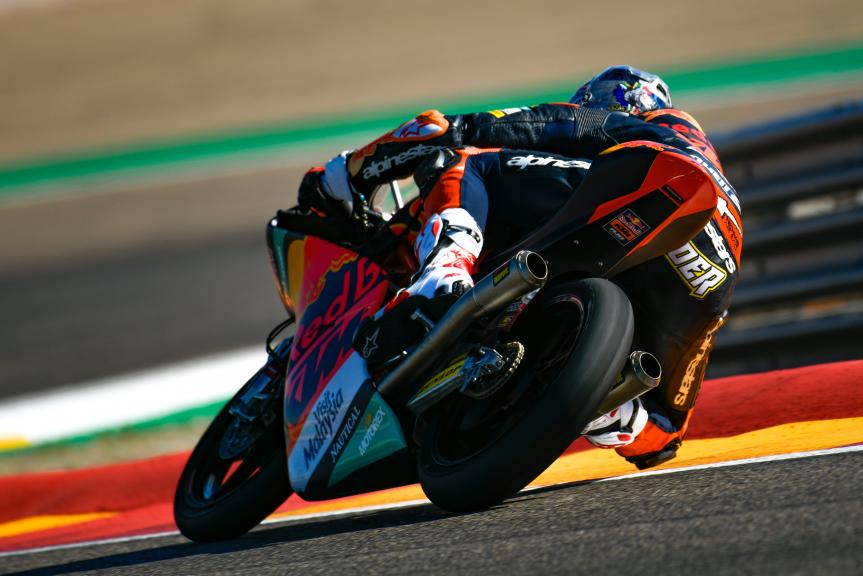 Darryn Binder, Red Bull KTM Ajo, Aragón Moto2 & Moto3 Official Test